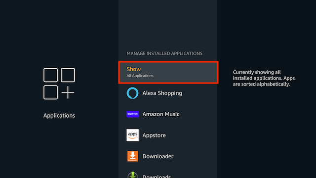 How to Uninstall Applications on a Firestick
