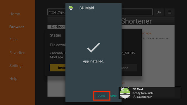 How to Install SD Maid Pro Mod on FireStick